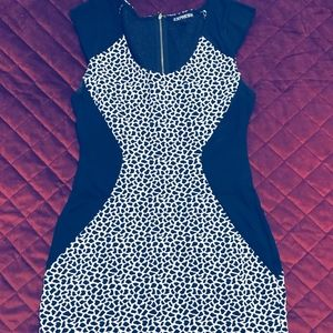 Giraffe Print Cocktail Dress